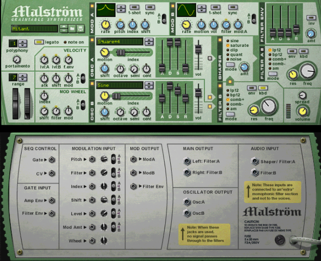 Malstrom, Reason - Muzik