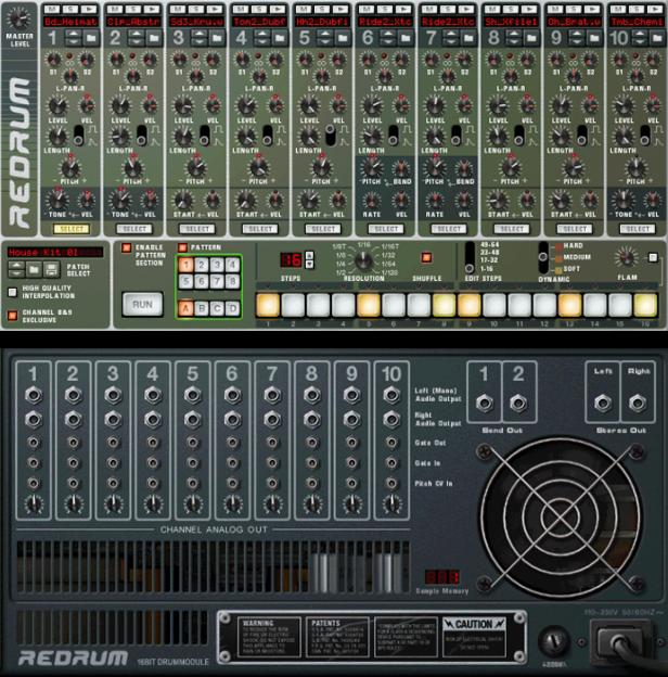 מכונת התופים של תכנת Reason - Muzik